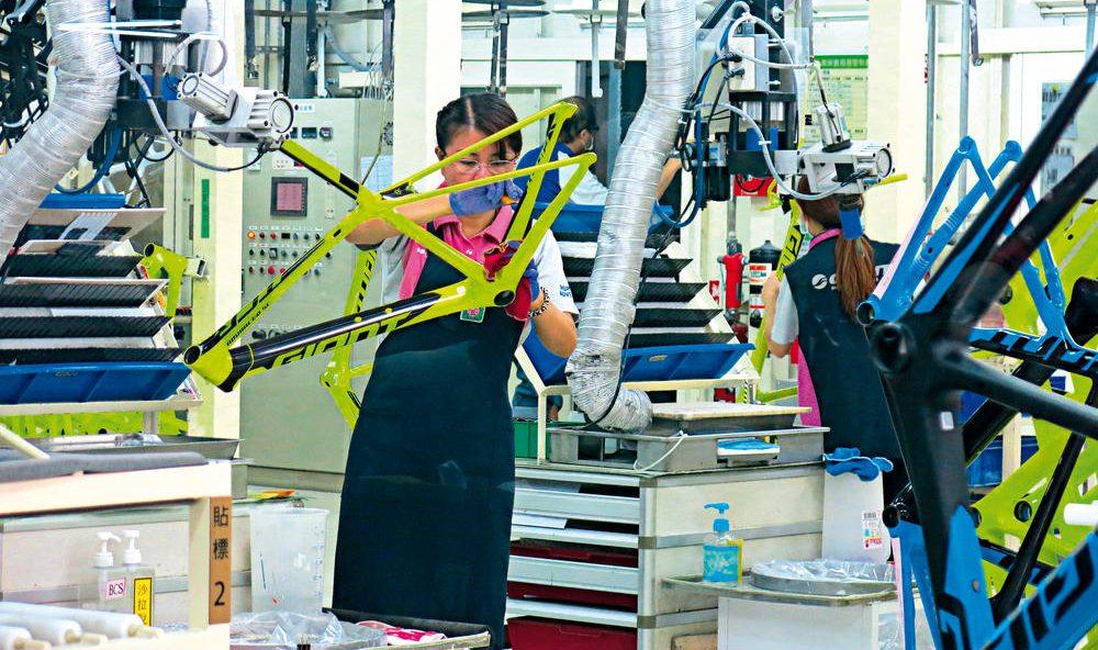 fabrica de bicicletas giant