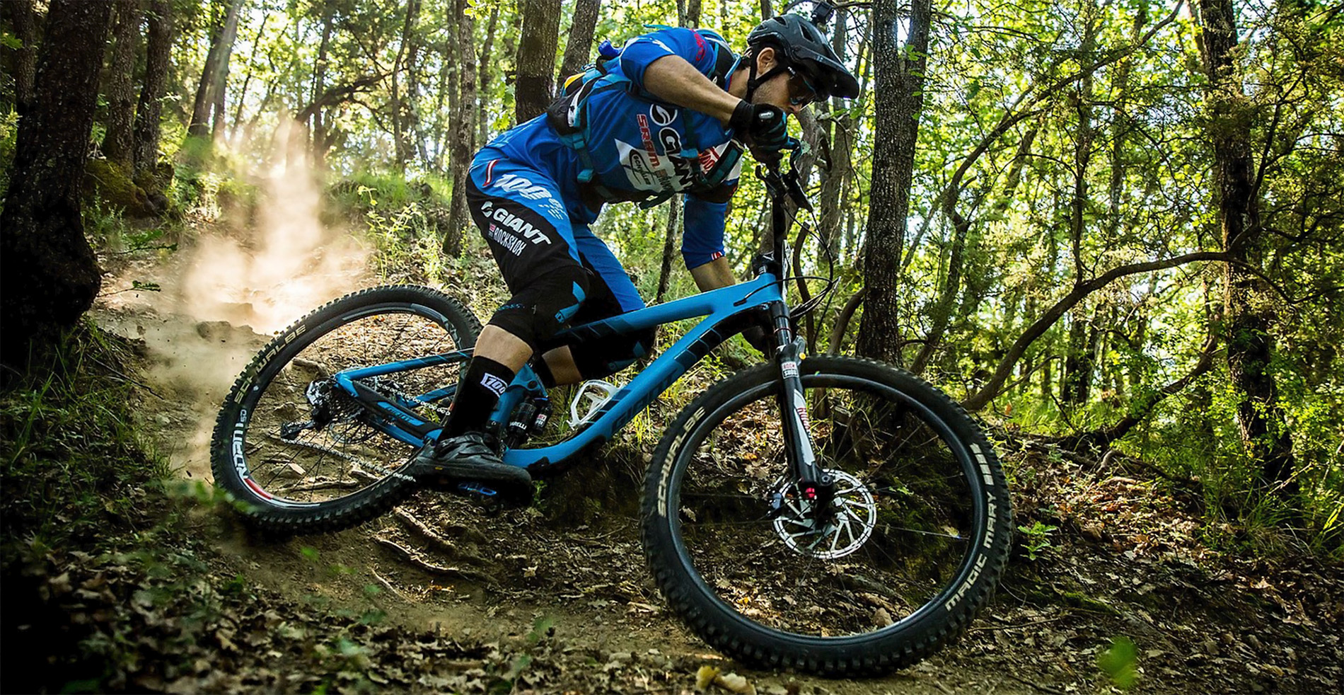 cómo configurar la doble suspensión de una bicicleta de montaña